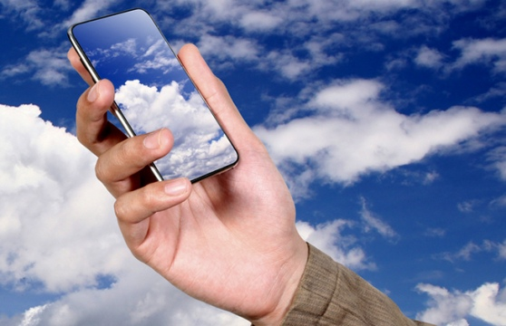 iphone cloud hosted voip voice